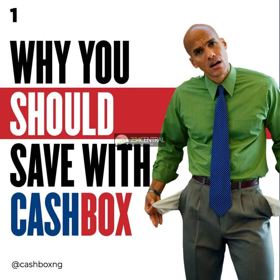 Start saving with cashbox app